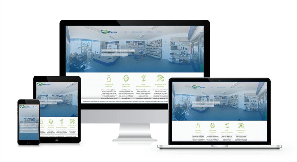 werbekueche-kunden-projekt-orthopaedie-wanner-responsive-webdesign